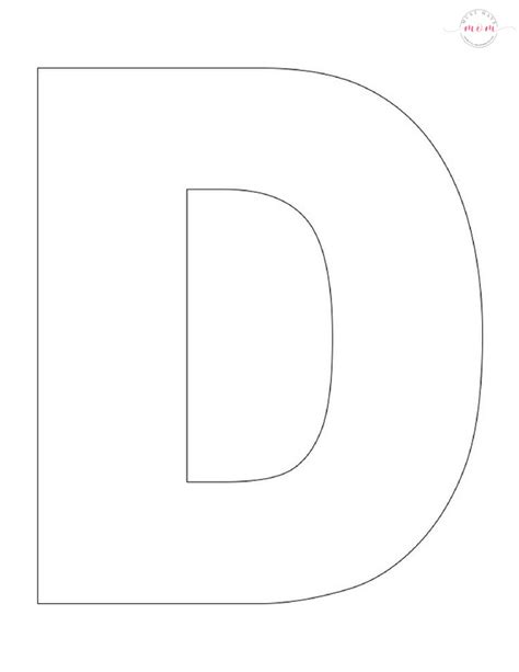 letter d template letter of the week letter craft d is for desert must