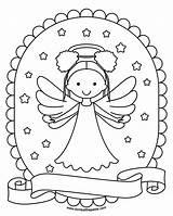 Angel Pages Coloring Transparent Hair Paste Eat December Lg sketch template