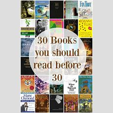 30 Books You Should Read Before 30  Home Maid Simple