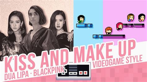Kiss And Make Up, Dua Lipa & Blackpink, Videogame Style
