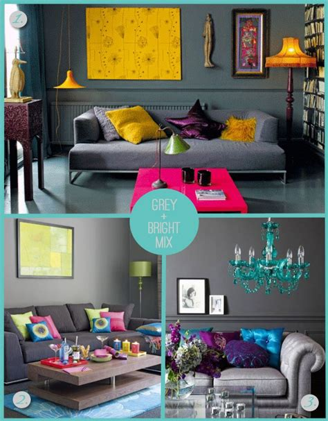 Living Room Colors That Pop by Absolutely The Charcoal Walls Sofa With Bright