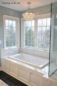 designing on the side: Master Bath Reveal