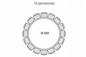 Table 16 Personnes : une table ronde pour 16 personnes quel espace pr voir pour la table c t ~ Teatrodelosmanantiales.com Idées de Décoration