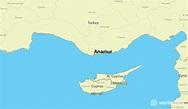 Where is Anamur, Turkey? / Anamur, Mersin Map - WorldAtlas.com