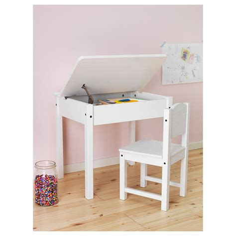 Sundvik Children's Desk White 58 X 45 Cm  Ikea. Adjustable Height Pub Table. Coffee Table Cart. Inexpensive Drawer Pulls. Metal Glass Computer Desk. Magnifying Desk Lamps. Office Desk Cheap. Japanese Dining Table Ikea. Dovetail Drawers