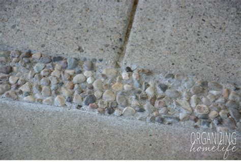excellent and effective way to fill in gaps on a concrete