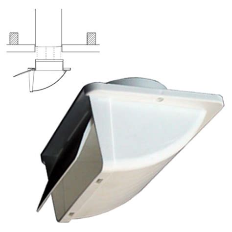 duraflo bathroom soffit vent white soffit vent for 4 quot ducting with backdraft der