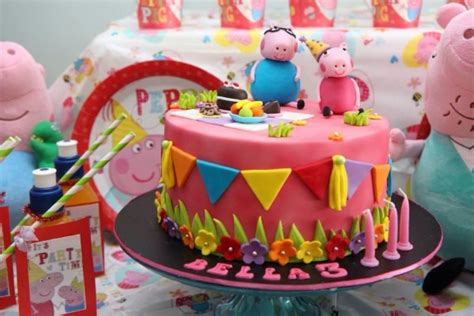 peppa pig birthday party kids party space