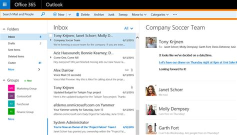 Office 365 Outlook Layout by Office 365 Outlook On The Web Has Stellar New Features