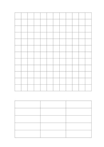 word search template blank wordsearch grid by ballder teaching resources tes