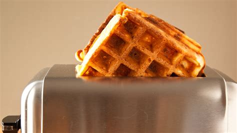 Waffles In The Toaster - this freeze and toast bacon waffle recipe is easy to make