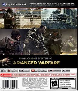 Call Of Duty 11: Advanced Warfare Video Game - PS3 (UK ...