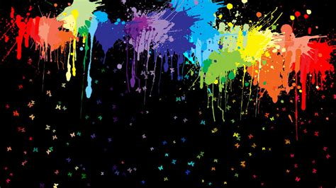 21+ Paint Splatter Backgrounds, Wallpapers, Images, Pictures