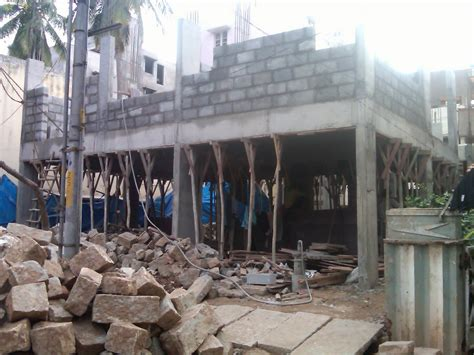 original cast of ground floor ram smrithi of ground floor slab and work on the