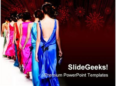 fashion show  powerpoint templates  powerpoint