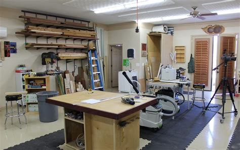 great wood shop layout tips   woodworker