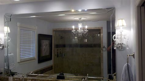 Bathroom Mirror Replacement by Bathroom Mirror Installation Replacement Affordable