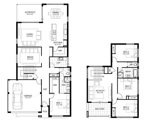 4 bedroom townhouse designs