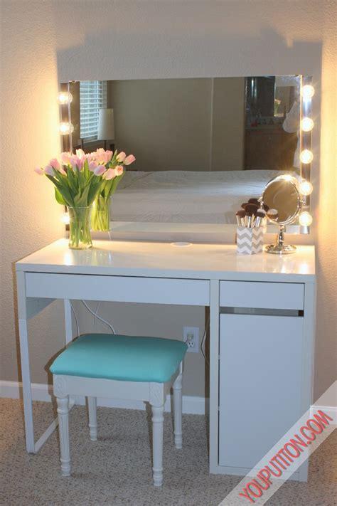 makeup desk ikea uk creative vanity decoration