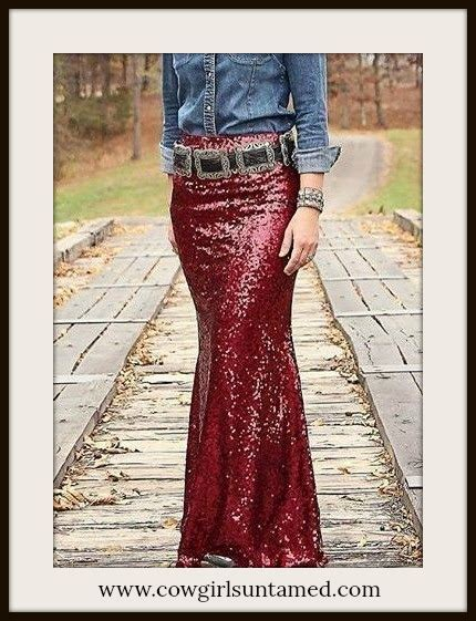 red wine sequin long maxi skirt wine burgundy red long