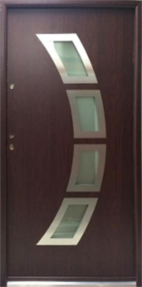miami steel modern front entry door  glass