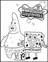 Spongebob Coloring Pages Printables sketch template