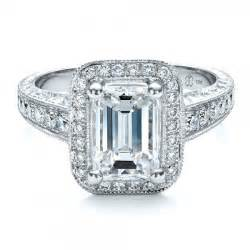 jewelry engagement rings custom emerald cut engagement ring 1478 bellevue seattle joseph jewelry