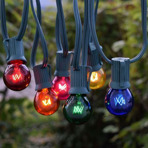 outdoor christmas globe lights 25 39 multi color c9 globe string lights christmas lights