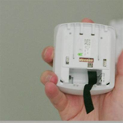 Battery Motion Detector Replace Vivint Pir2 Change
