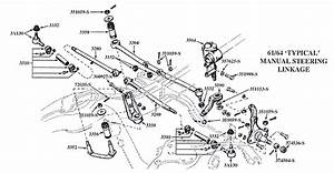 Steering System Diagram  Any One Have One Of A 64