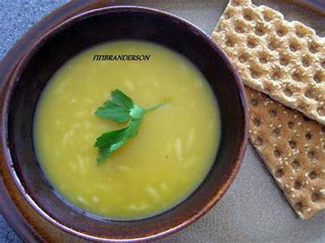 recette de soupe de potiron et pates