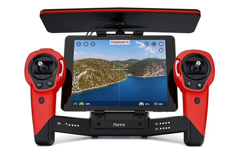 parrot bebop skycontroller red air supply
