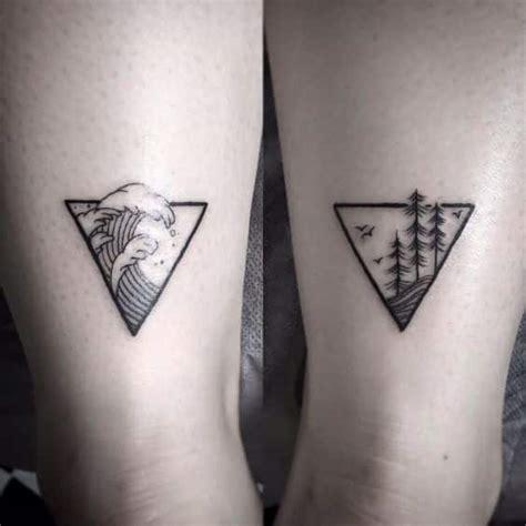 tatuajes de triangulos  su genial significado en cada diseno