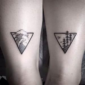 Tatouage Couple Original : tatuajes de tri ngulos y su genial significado en cada dise o ~ Melissatoandfro.com Idées de Décoration