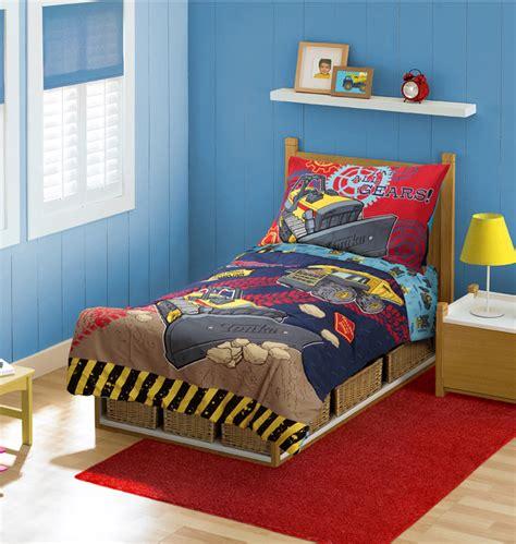tonka toddler bed tonka gears toddler bedding set 4pc construction trucks
