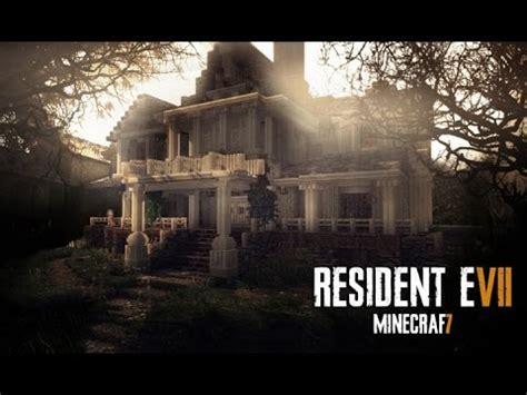 resident evil  minecraft build  guest house part