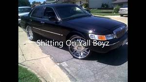 2000 Grand Marquis On 24s