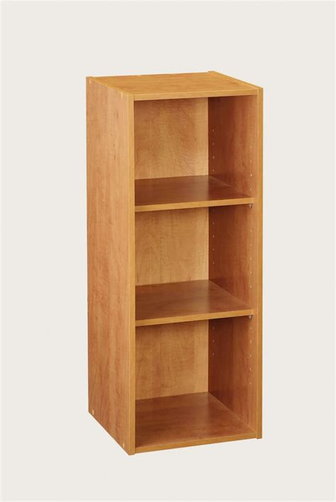 closetmaid shelf 8977 closetmaid 3 shelf laminate stackable organiser alder
