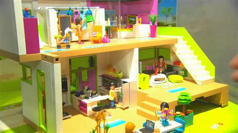 extension villa moderne playmobil playmobil internationale spielwarenmesse 2014 hinter