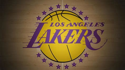 lakers logo  light brown background basketball hd sports