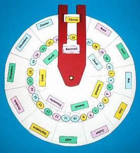 Fabriquer Un Calendrier Perpétuel : fabriquer un calendrier perp tuel calendriers pinterest calendrier activit et scolaire ~ Melissatoandfro.com Idées de Décoration