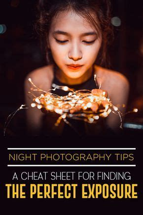 night photography tips  cheat sheet  finding