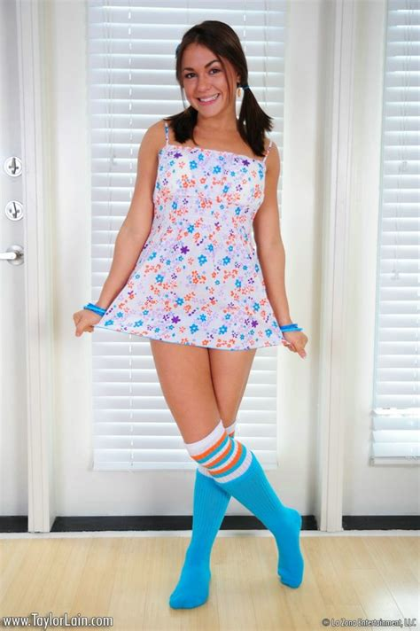 Teen In Sundress Shows Us Her Small Tits And Her Young