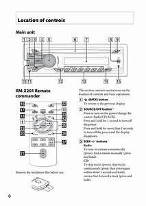Sony Car Stereo Cdx Gt260mp Wiring Diagram