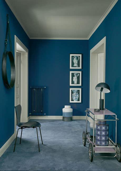die farbe blau schoener wohnen farbe