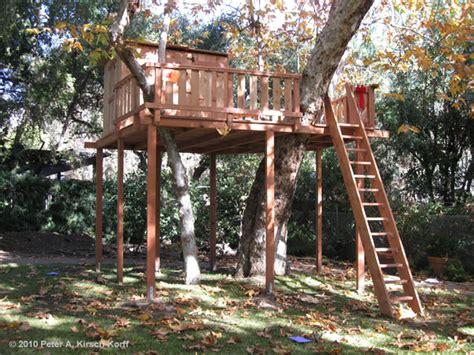 wood tree house  club house arcadia monrovia