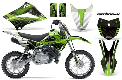 2010 2016 klx110 graphics kit kawasaki motocross graphic