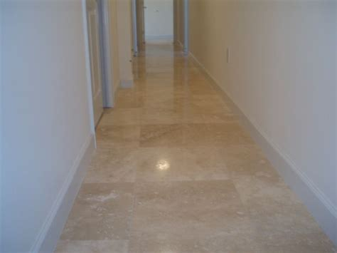 Rc Willey Floor Tile by Polished Travertine In Hallway Tile Floors More