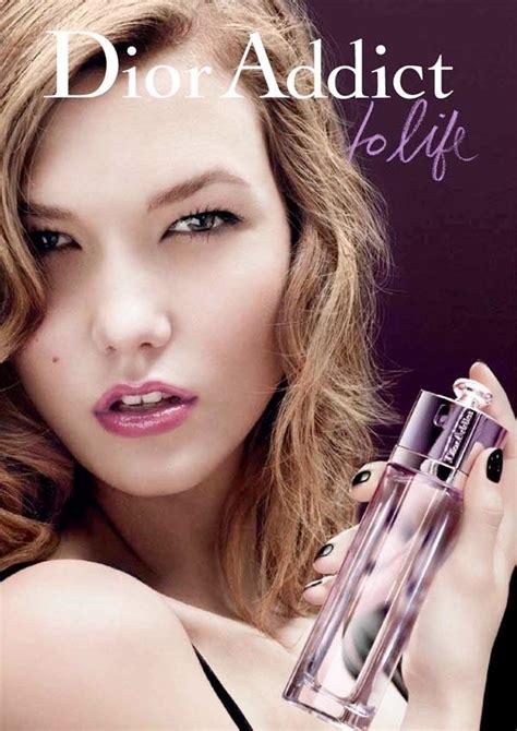 Karlie Kloss Dior Addict Life Fragrance