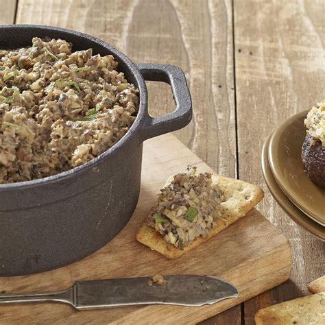 mushroom pate recipe eatingwell